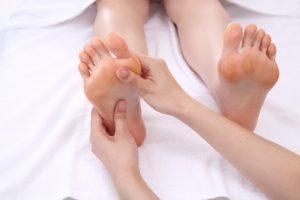 足のリフレクソロジー